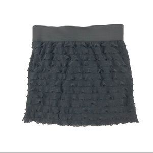 Free People Downtown Ruffle mini skirt, XS, NWOT